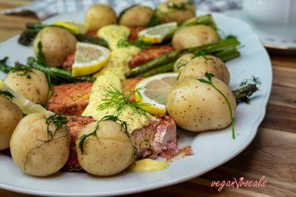 Exquisite Gluten-Free & Vegan Salmon Fillets
