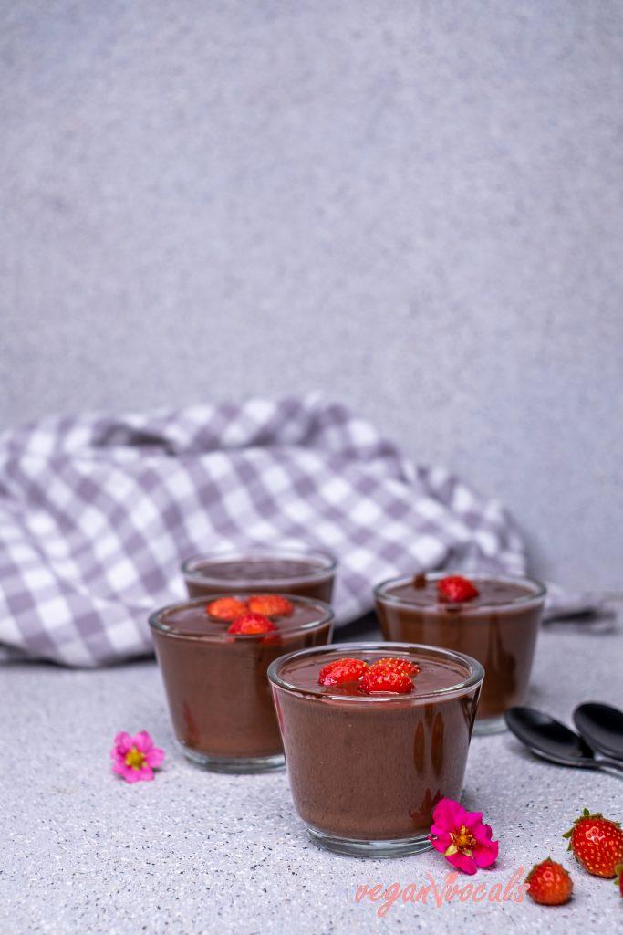 Easy Exquisite Vegan Chocolate Pudding