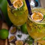 Mojito de Mango y Maracuyá Bajo en Calorías