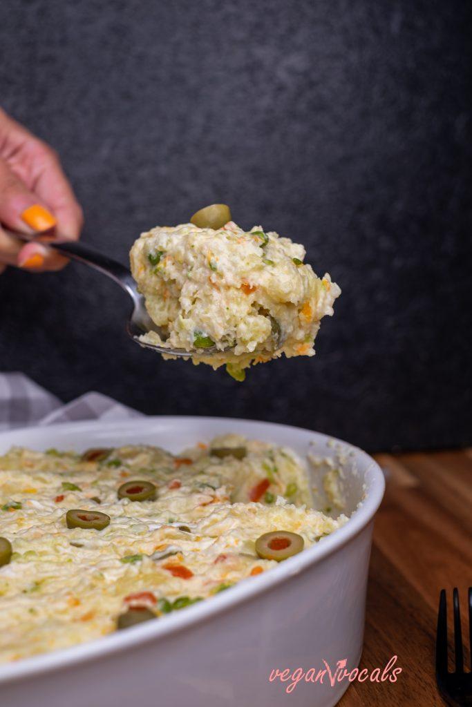 Vegan Spanish Potato Salad (Ensaladilla Rusa)