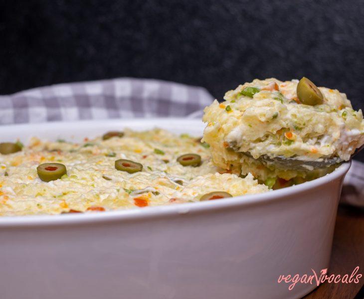 Vegan Olivier Salad -Vegan Russian Salad