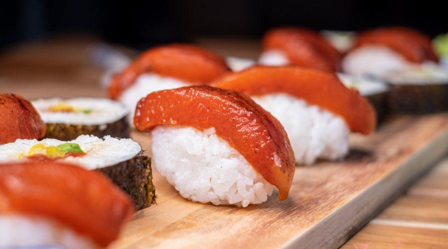 Delicioso Sushi de Atún Vegano Fácil